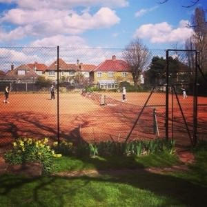 St Mary's Tennis clay courts